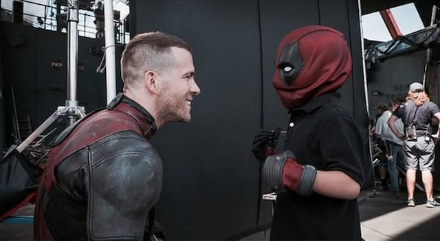 Ryan Reynolds Helps Young Cancer Patient Meet Deadpool