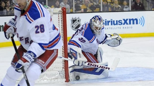 New York Rangers goalie Henrik Lundqvist (Reuters)