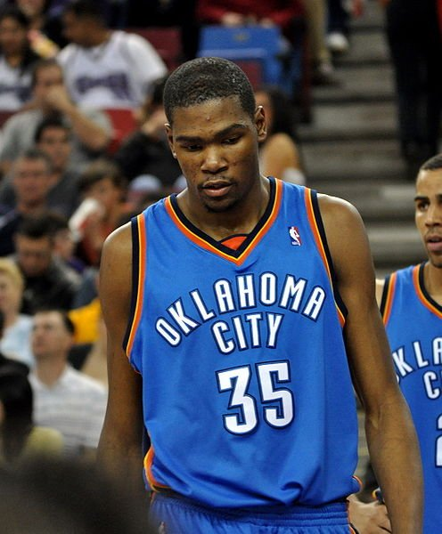 Kevin Durant of the OKC Thunder.