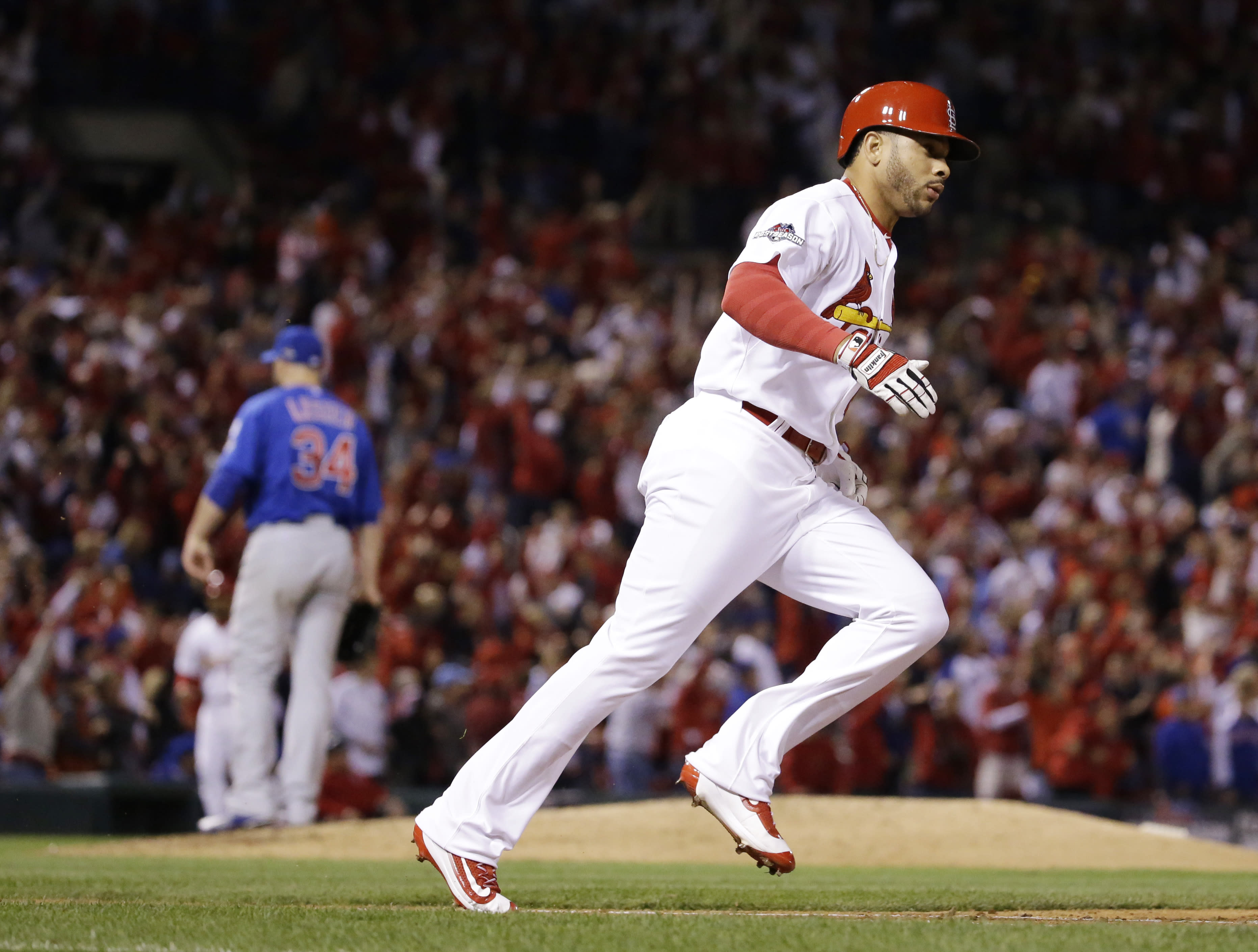 LEADING OFF: Garcia up for Cards, Syndergaard on the road