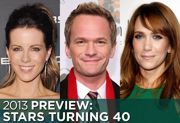 Stars Turning 40 in 2013