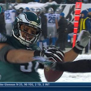 Philadelphia Eagles running back Chris Polk 38-yard touchdown