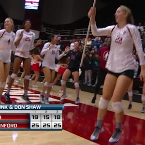 Recap: Stanford sweeps Utah in straight sets