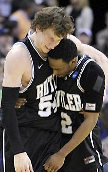 Butler ousts Pitt in finish for the ages