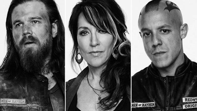 Ryan Hurst, Katey Sagal and Theo Rossi