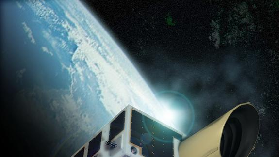 Indian Rocket Launches Asteroid-Hunting Satellite, Tiny Space Telescopes