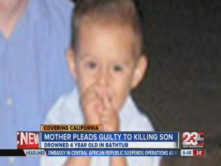 Mother pleads guilty to killing son