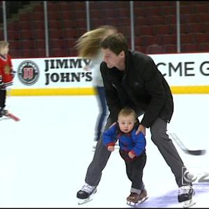 Littlest Hawks Make Appearance At Skate-Around