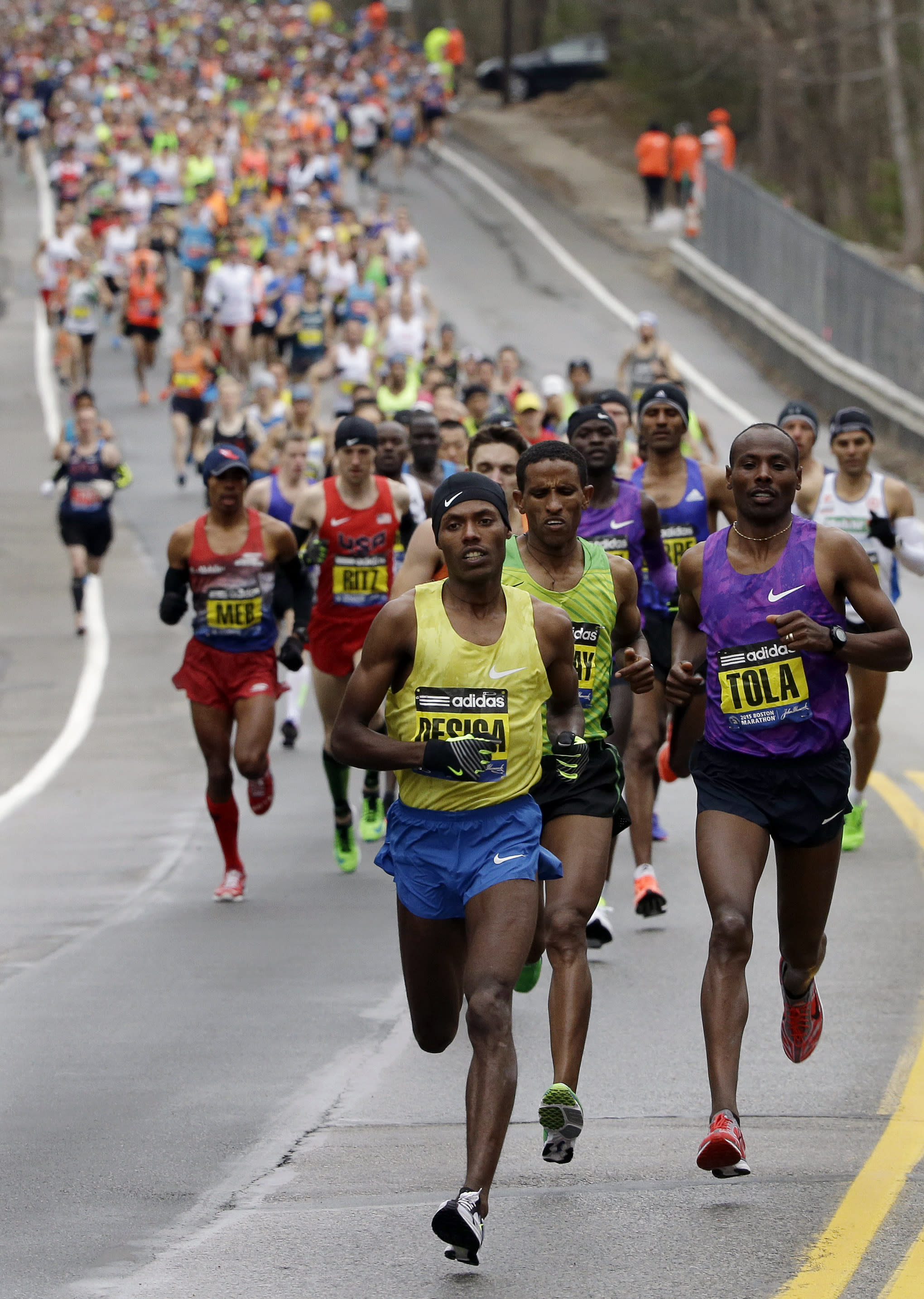 No place for world's top marathon in 2024 Boston Olympics