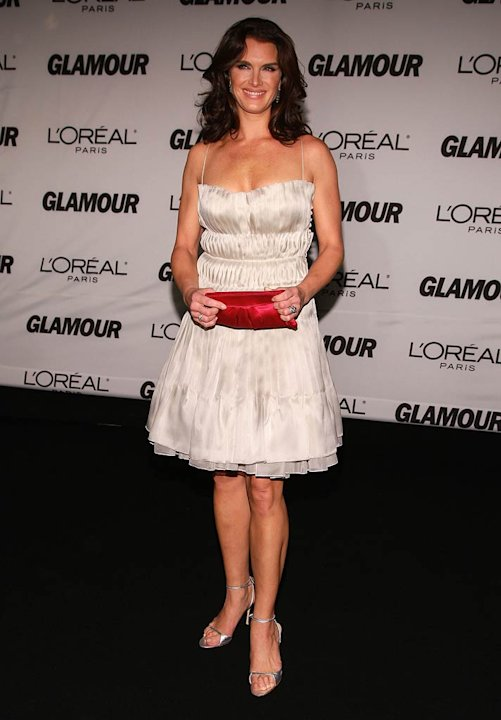 Brooke Shields attends The Glamour Magazine 2007 Women of The Year Awards.