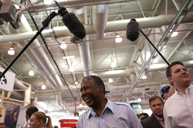 Hollywood Conservative Buzz Builds for Ben Carson as GOP Contender Surges in Polls