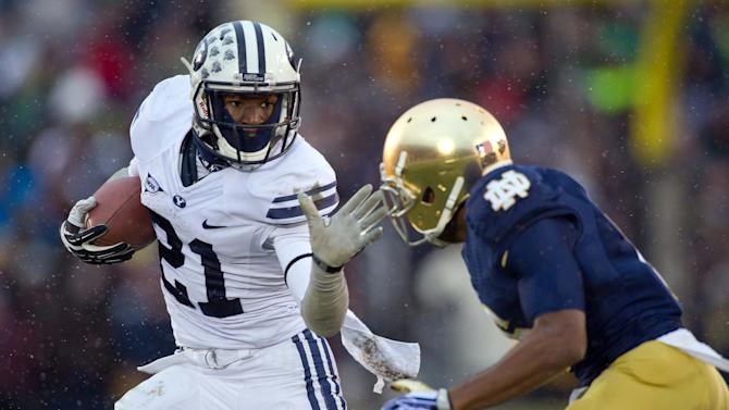 NCAA Football: Brigham Young at Notre Dame