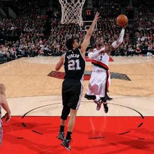 Spurs vs. Trail Blazers