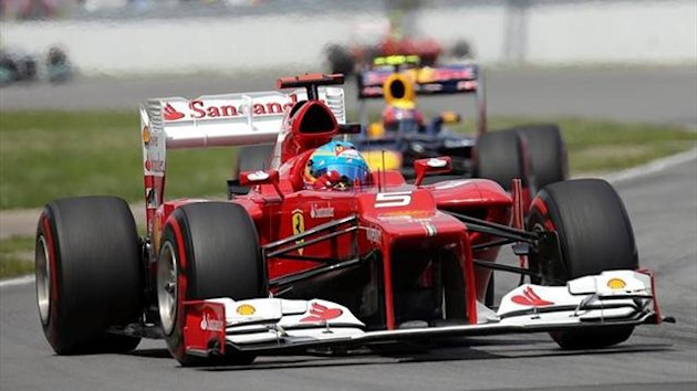 2012 Canadian Grand Prix Fernando Alonso Ferrari