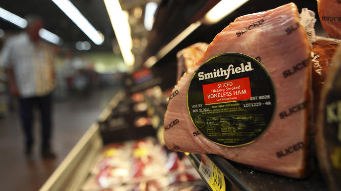 China's Shuanghui in $4.7B deal for Smithfield