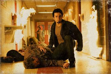 "Freddy Rodriguez in the ""Planet Terror"" segment of Dimension Films' Grindhouse"