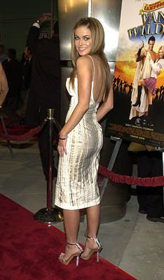 Carmen Electra at the Hollywood premiere of Artisan's National Lampoon's Van Wilder