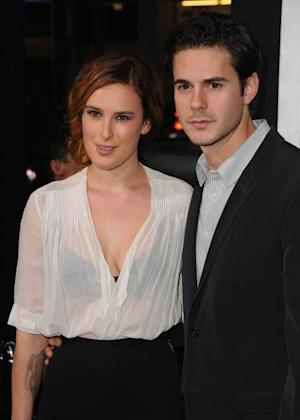 Rumer Willis and Jayson Blair -- Getty Images