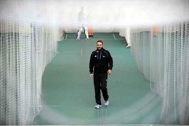 Cricket - Investec Test Series - Second Test - England v New Zealand - New Zealand Nets - Day Two - Headingley