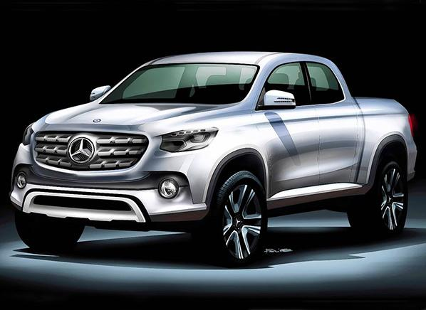 Mercedes-Benz makes a pickup? Giddy up, partner