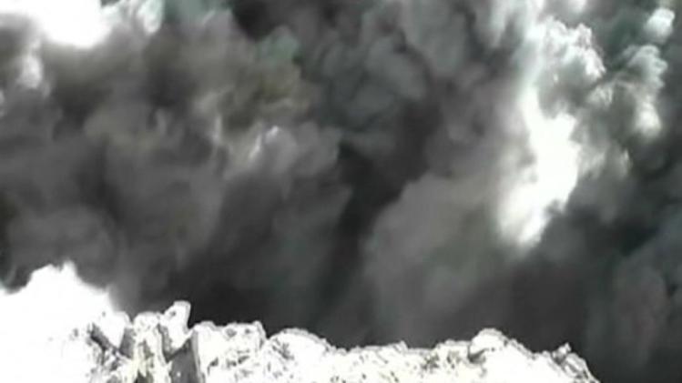Video captures Peruvian volcano eruption