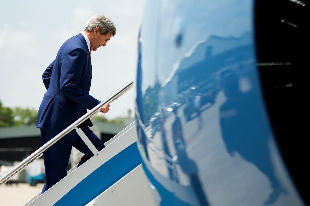 Kerry due in Kenya after years of estrangement