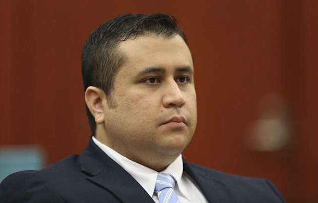 FILE - This June 20, 2013 file photo, George Zimmerman listens as his defense counsel Mark O'Mara questions potential jurors during Zimmerman's trial in Seminole circuit court in Sanford, Fla. Judge Debra Nelson said Saturday, June 22, 2013, that prosecution audio experts who point to Trayvon Martin as screaming on a 911 call moments before he was killed won't be allowed to testify at trial. Nelson reached her decision after hearing arguments that stretched over several days this month on whether to allow testimony from two prosecution experts. (AP Photo/Orlando Sentinel, Gary Green, Pool, file)