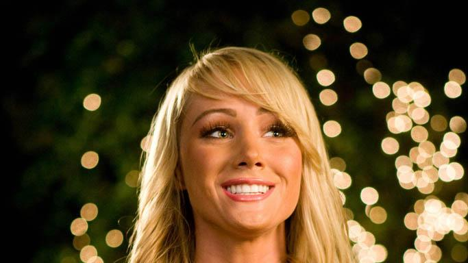 Sara Jean Underwood Miss March Production Stills Fox Searchlight 2009