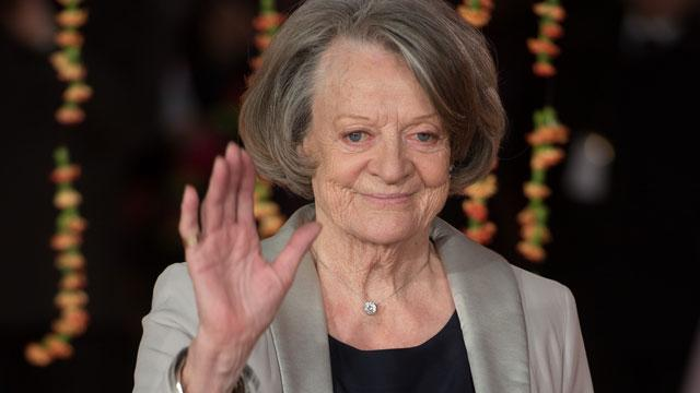 Not So Fast: Maggie Smith Says She'll Stay on 'Downton Abbey' Until It Ends