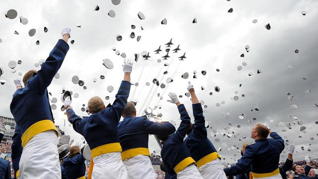 Air Force Academy Graduates First Openly Gay Cadets