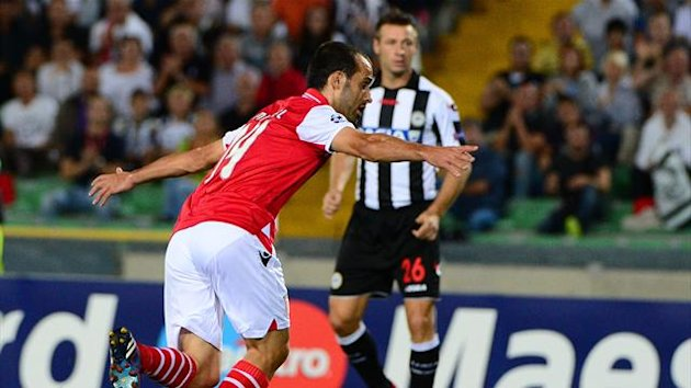 Udinese Braga Champions League 2012