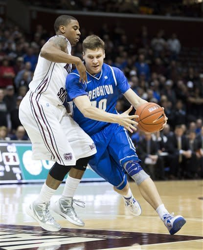 McDermott scores 39 to lead No. 13 Creighton