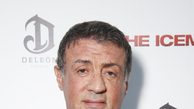Sylvester Stallone attends the DeLeon Tequila Premiere of The Iceman at the Arclight on Monday, April 22, 2013 in Los Angeles. (Photo by Todd Williamson/Invision for Millennium/AP)