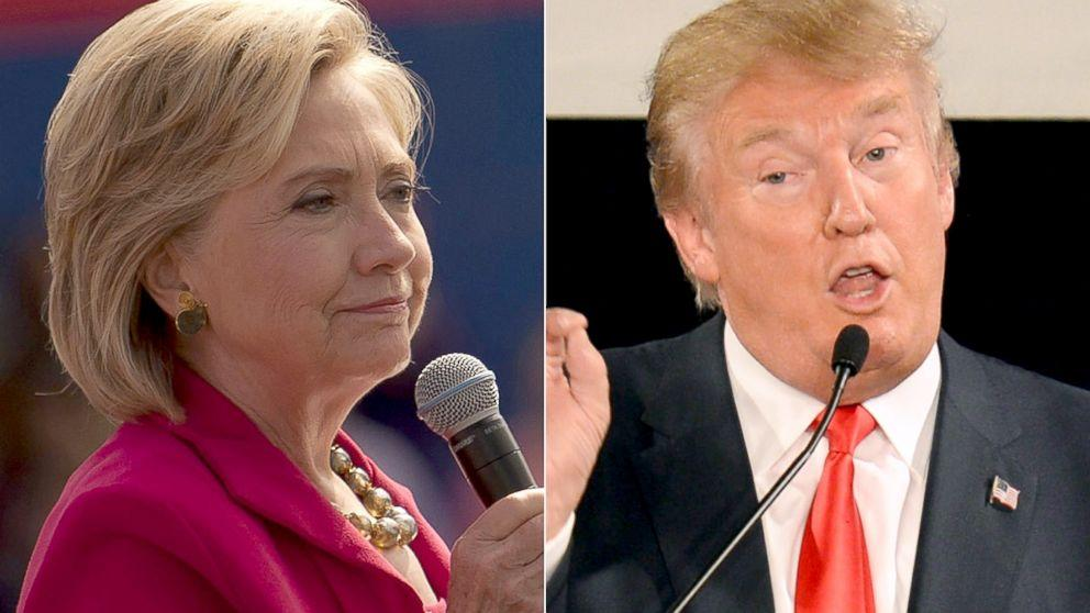 Clinton Goes Under Water; Trump Polarization Grows (POLL)
