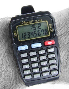 Kenko's Calculator Watch