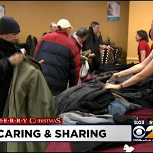 New Yorkers Mark Christmas By Giving Back To Those In Need