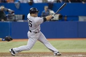 Martin hits 3-run HR, Yankees beat Blue Jays 11-4
