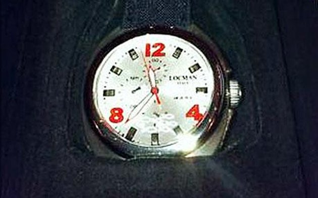 A watch given to Prime Minister Tony Blair by his Italian counterpart Silvio Berlusconi was put on Ebay by Cherie Blair. Valued at £300 if new, this Locman Mare Titanium watch sold for £98. Cherie Bla