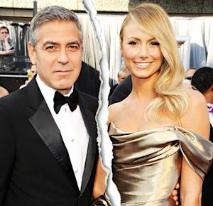 George Clooney, Stacy Keibler Break Up
