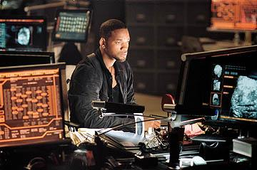 Will Smith as Det. Del Spooner in 20th Century Fox's I, Robot