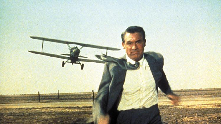Cary Grant North By Northwest Production Stills MGM 1959
