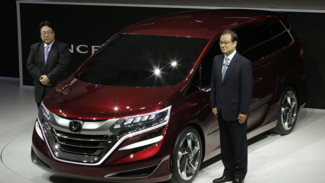 Honda's quarterly profit rises despite China woes