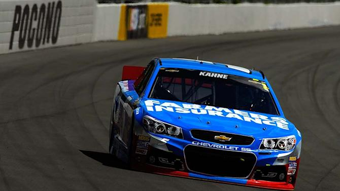 Complete schedule for Pocono and Texas