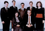 A family picture dated 1985 shows Bushra Assad (far right) who is the only sister of current Syrian President Bashar al-Assad (2nd left). Embattled Syrian President Bashar al-Assad's only sister, Bushra, whose husband was killed in a July bombing, is now living in Dubai with her children, Syrian residents have told AFP