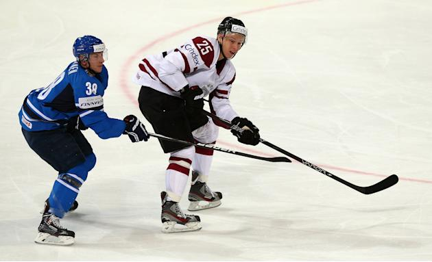 Latvia v Finland - 2013 IIHF Ice Hockey World Championship