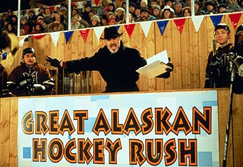 Burt Reynolds as Judge Burns in Mystery, Alaska