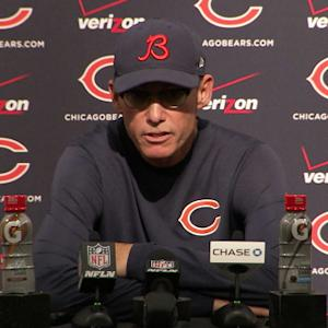 Chicago Bears postgame press conference
