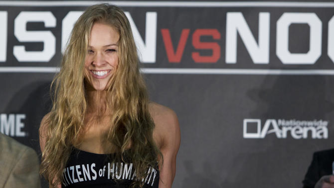 Strikeforce: Tate v Rousey - Weigh-In