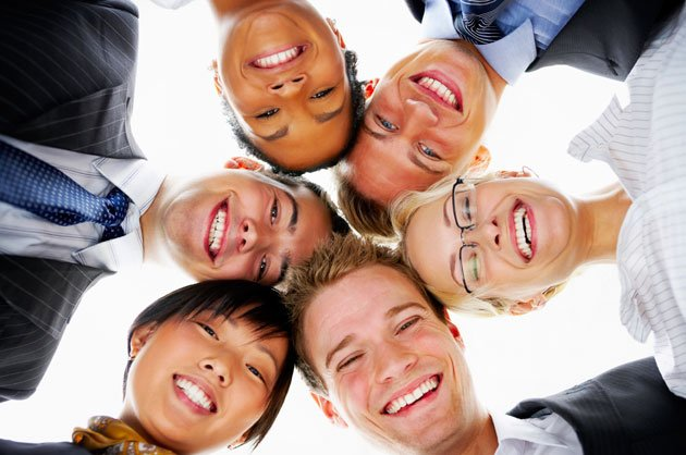 Be a happy member of a team. (JobsCentral photo)
