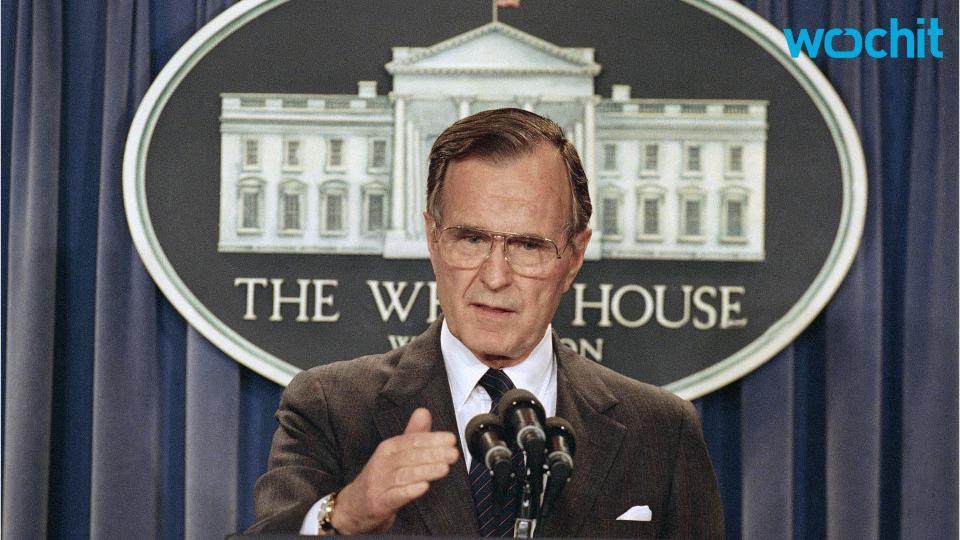 George H.W. Bush Taken to Hospital